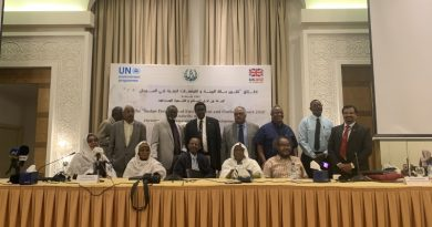 Sudan launches the first ever report on the state of the environment and outlook